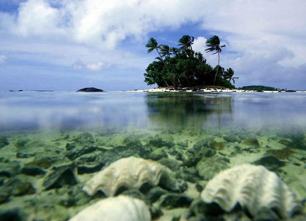 Пляж Аитутаки на островах Кука, фото 7