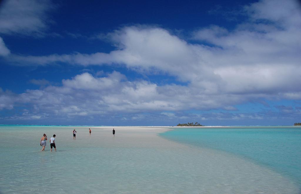 Пляж Аитутаки на островах Кука, фото 8