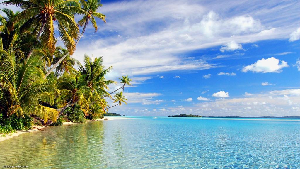 Пляж Аитутаки на островах Кука, фото 9