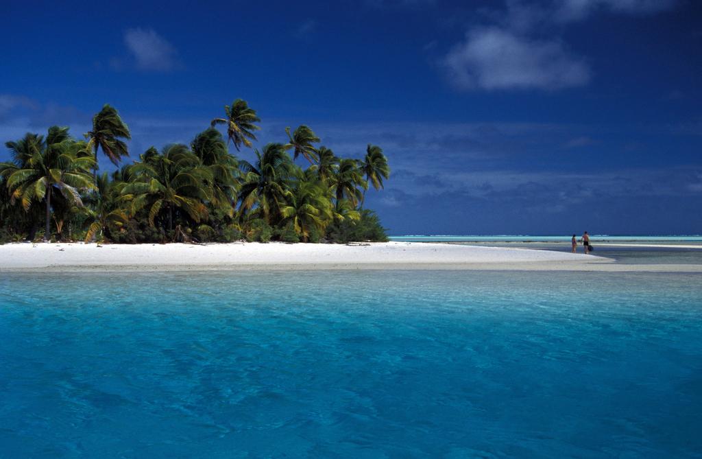 Пляж Аитутаки на островах Кука, фото 12