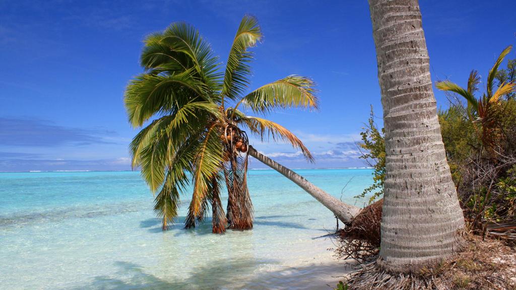 Пляж Аитутаки на островах Кука, фото 13