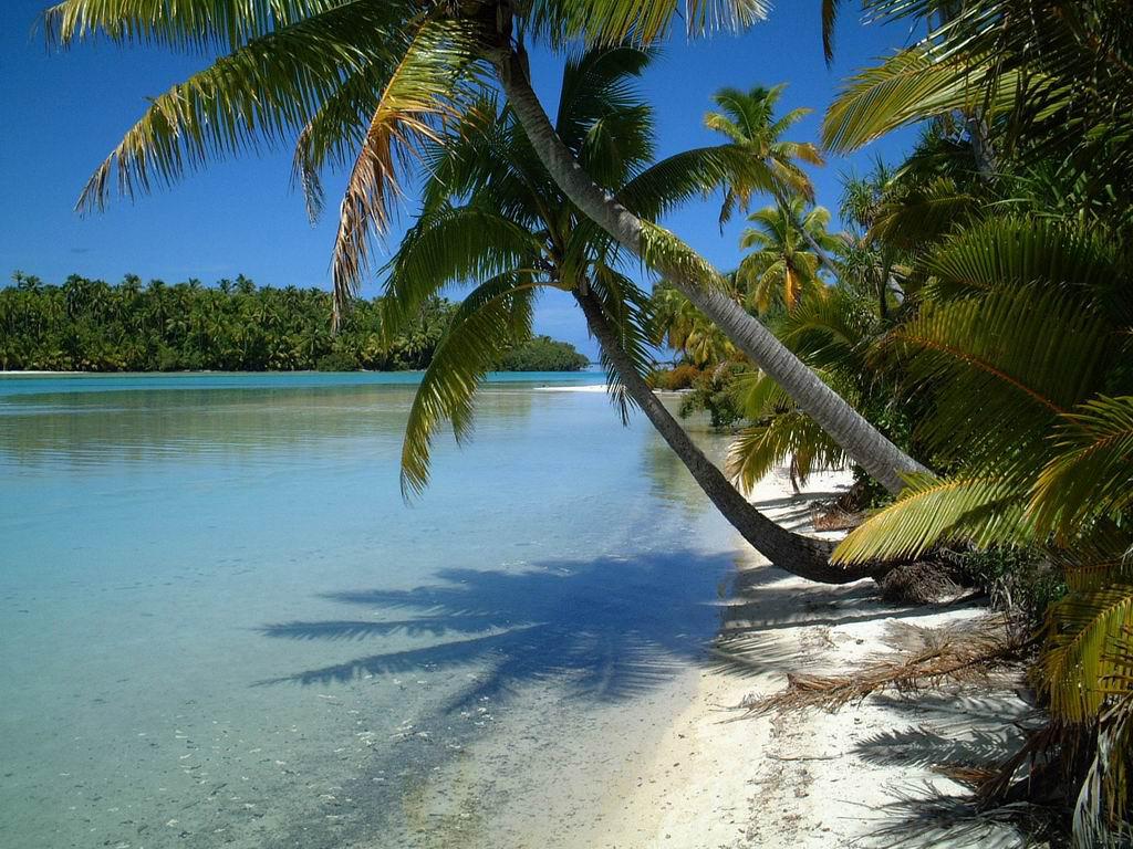 Пляж Аитутаки на островах Кука, фото 14