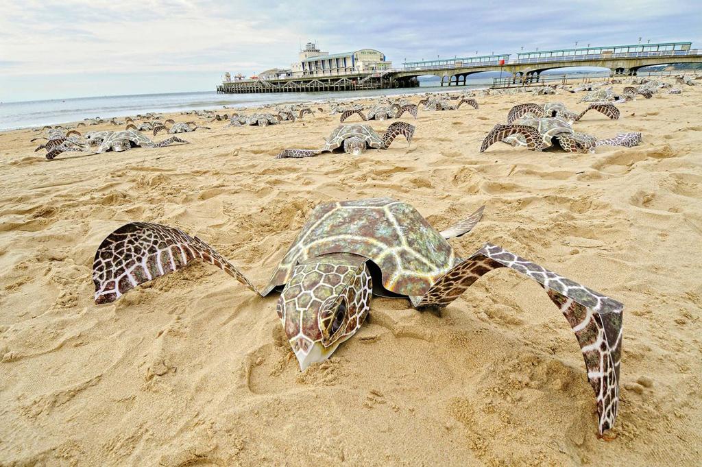 Пляж Борнмут в Великобритании, фото 1