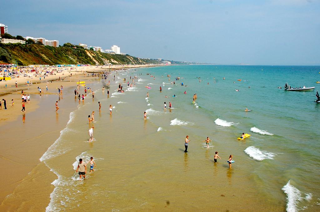 Пляж Борнмут в Великобритании, фото 2