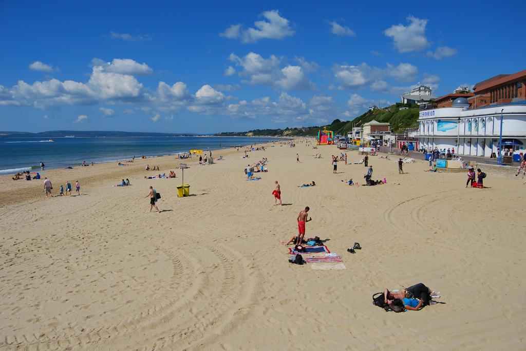 Пляж Борнмут в Великобритании, фото 6