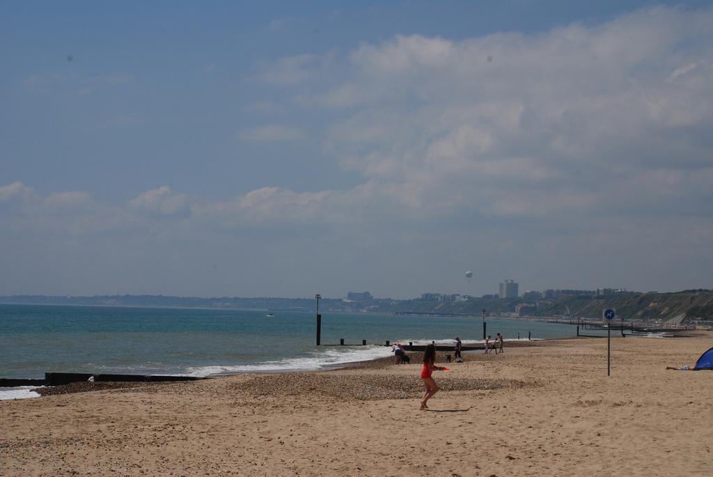 Пляж Борнмут в Великобритании, фото 7