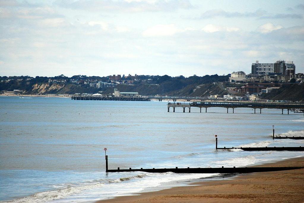 Пляж Борнмут в Великобритании, фото 8