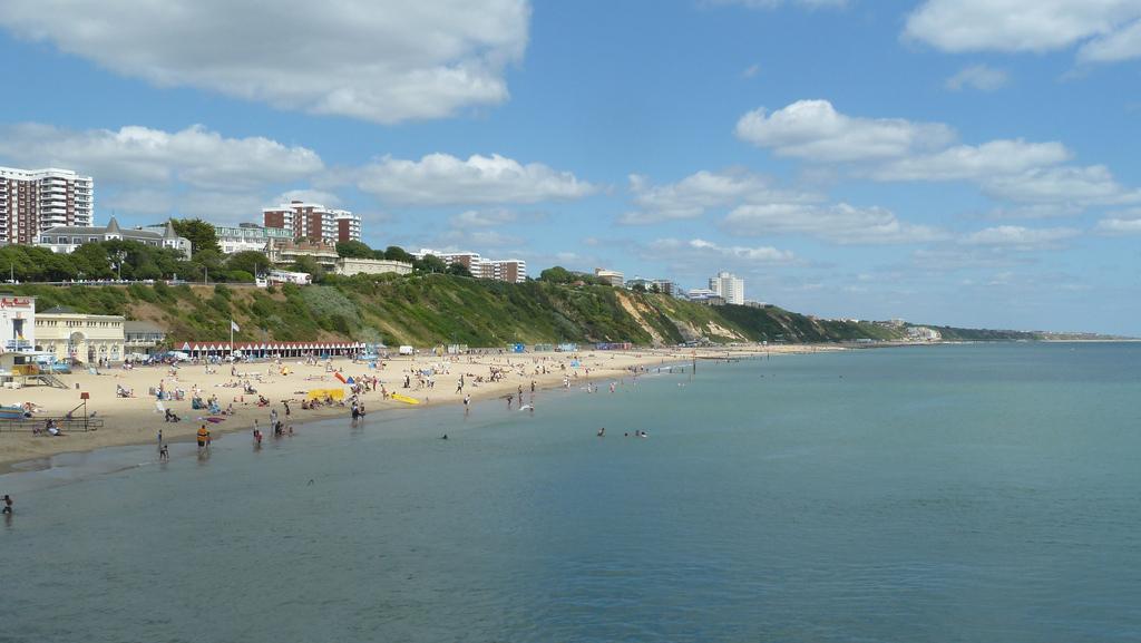 Пляж Борнмут в Великобритании, фото 9