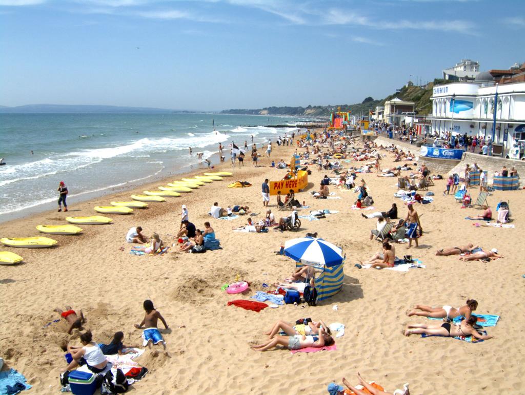 Пляж Борнмут в Великобритании, фото 10