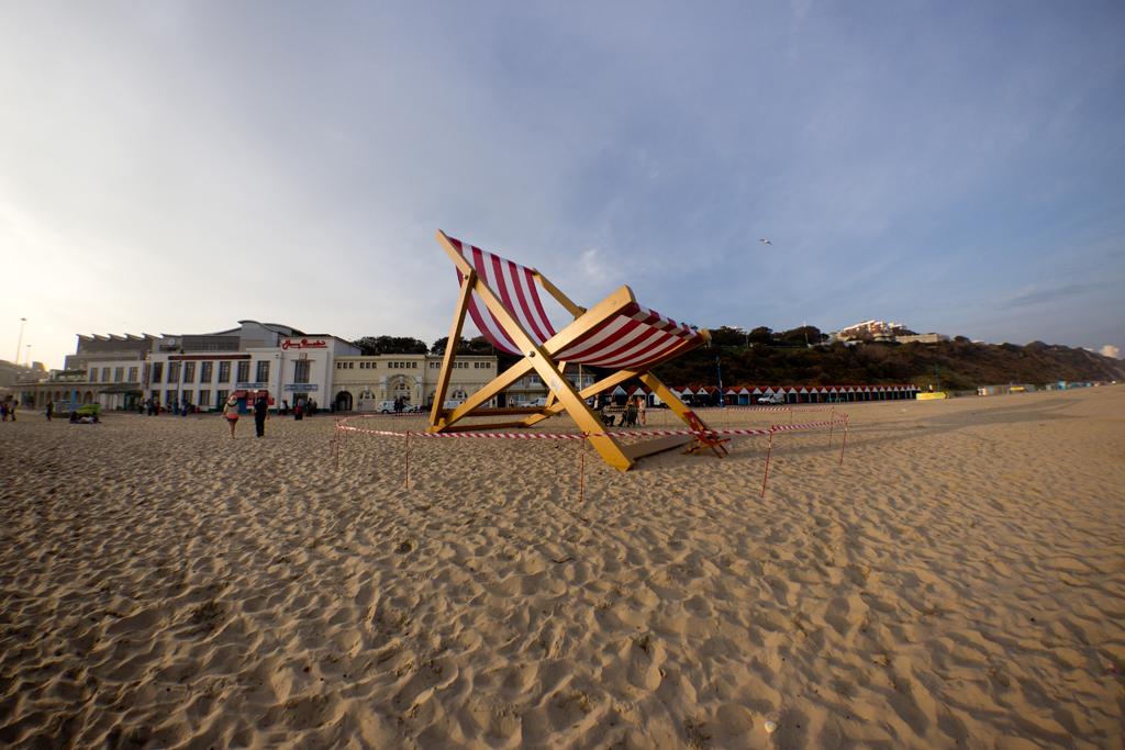 Пляж Борнмут в Великобритании, фото 11