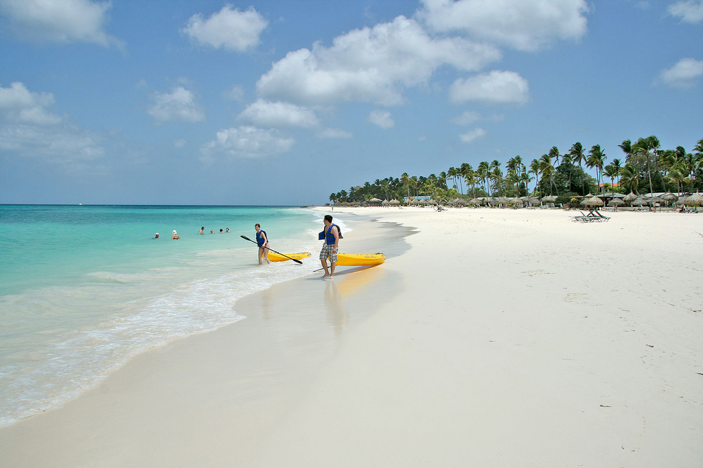 Пляж Игл Бич на Арубе, фото 4