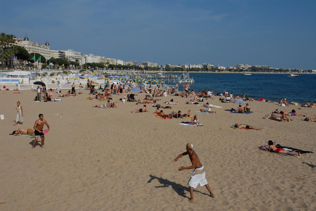 Пляж Канны во Франции, фото 3