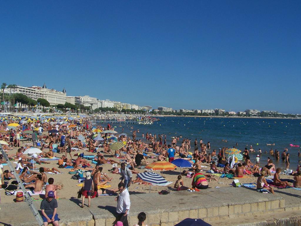 Пляж Канны во Франции, фото 4