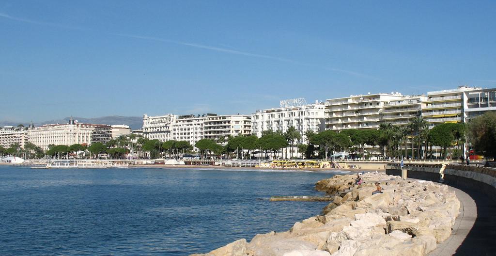 Пляж Канны во Франции, фото 7