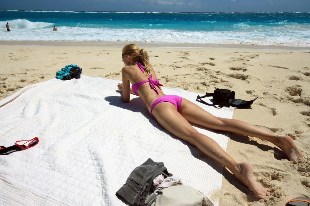 Пляж Крейн Бич в Барбадосе, фото 1