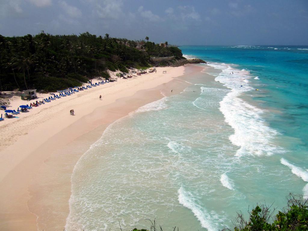 Пляж Крейн Бич в Барбадосе, фото 7