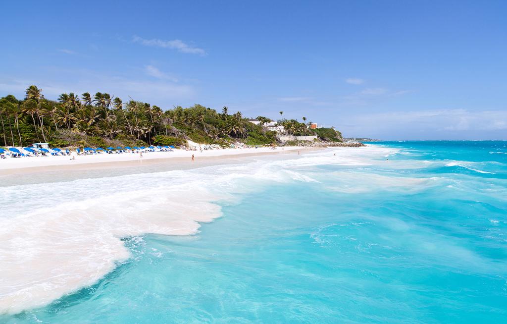 Пляж Крейн Бич в Барбадосе, фото 8