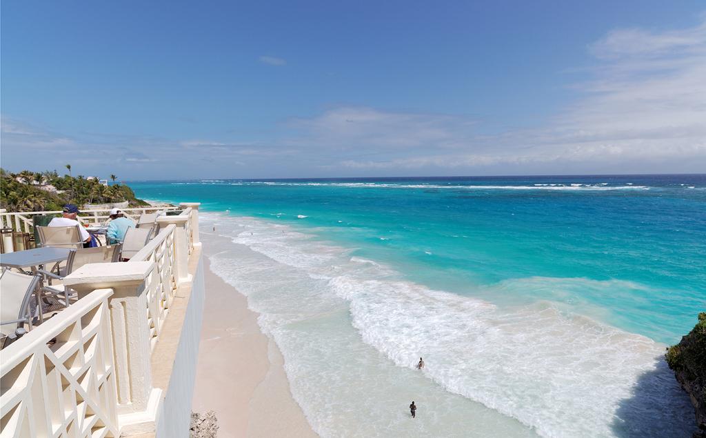 Пляж Крейн Бич в Барбадосе, фото 9