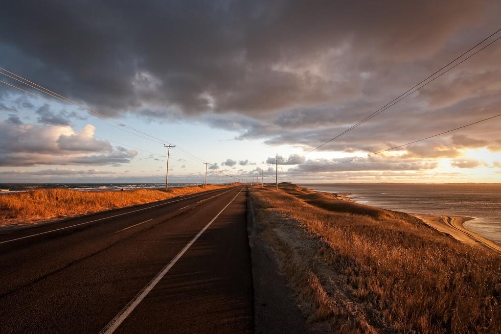 Пляж Мадленских островов в Канаде, фото 17