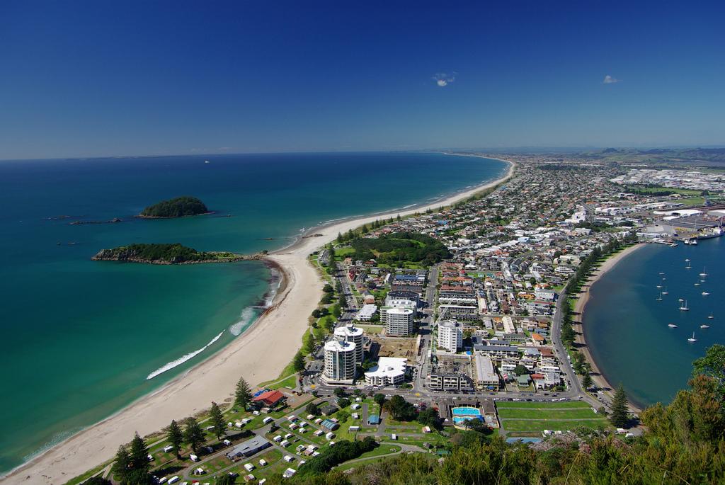 Пляж Маунгануи в Новой Зеландии, фото 1