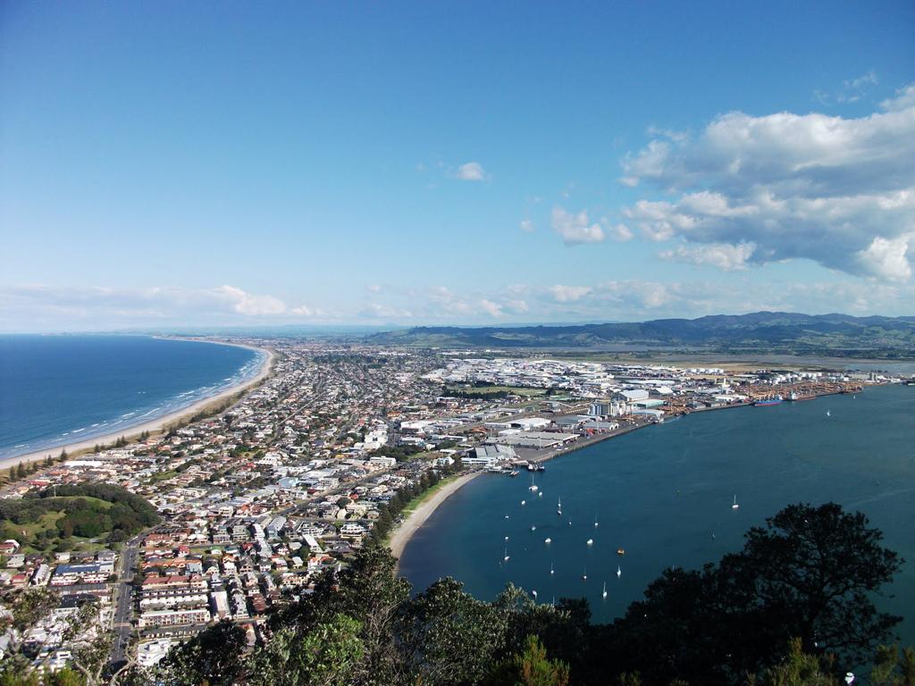 Пляж Маунгануи в Новой Зеландии, фото 9