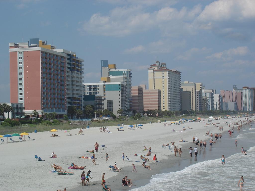 Пляж Миртл-Бич в США, фото 1