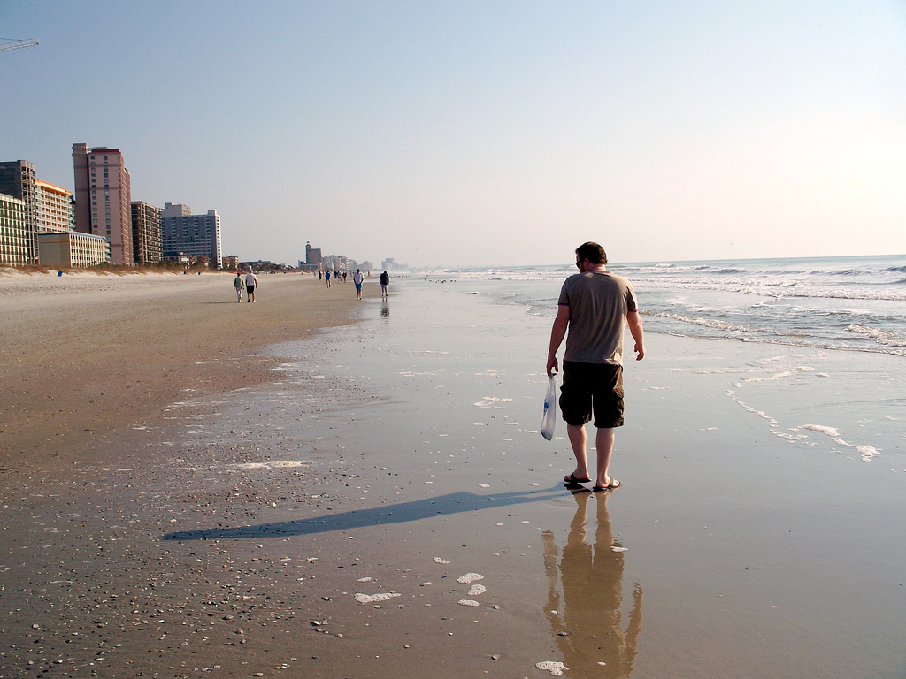 Пляж Миртл-Бич в США, фото 6