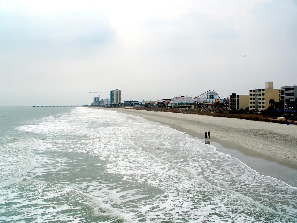 Пляж Миртл-Бич в США, фото 7