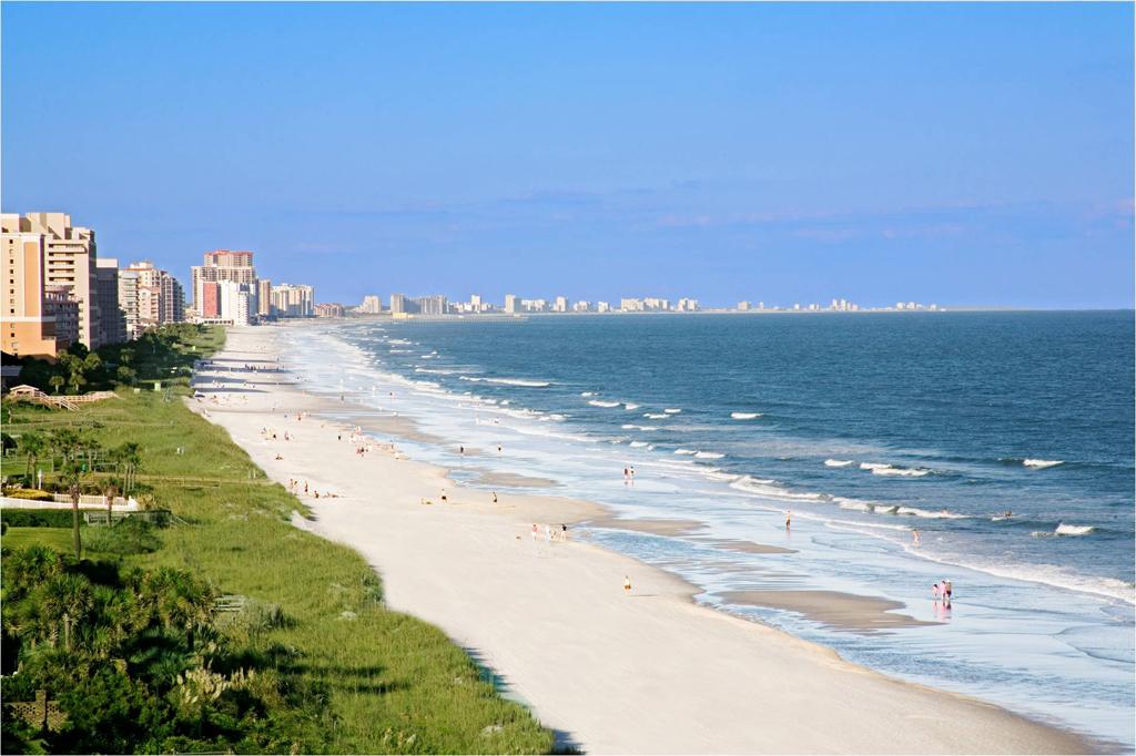 Пляж Миртл-Бич в США, фото 9