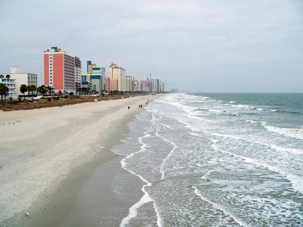 Пляж Миртл-Бич в США, фото 10