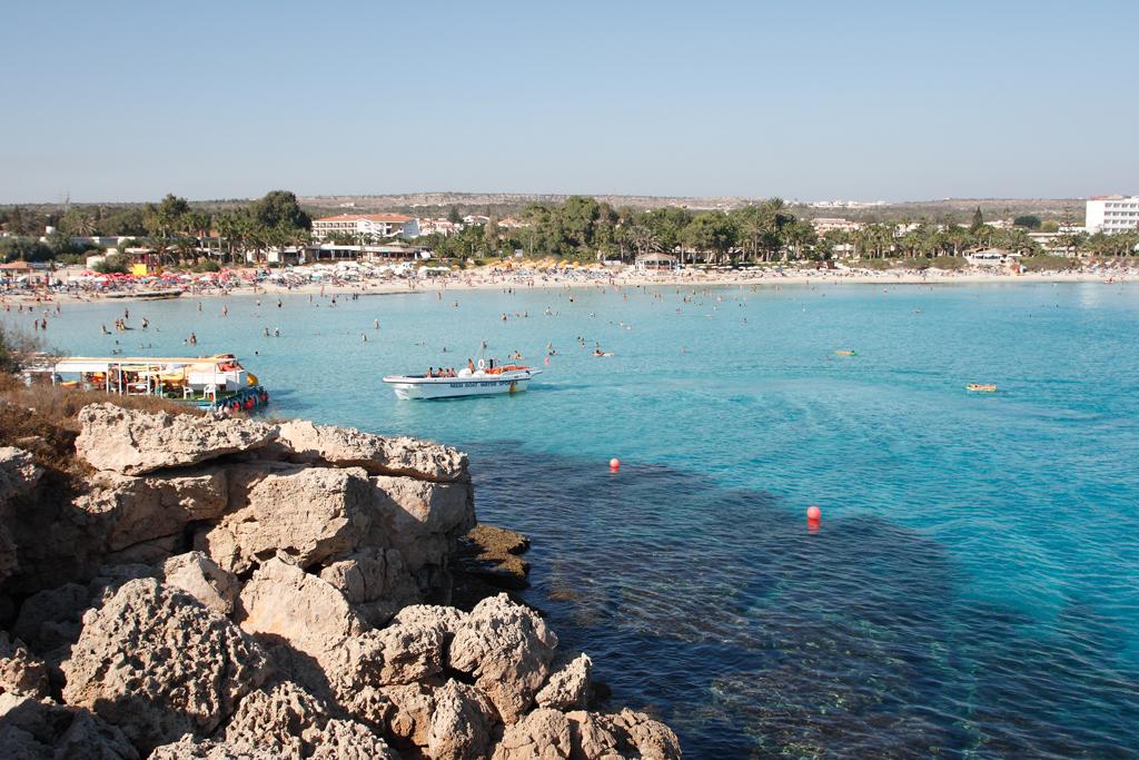 Пляж Нисси на Кипре, фото 5