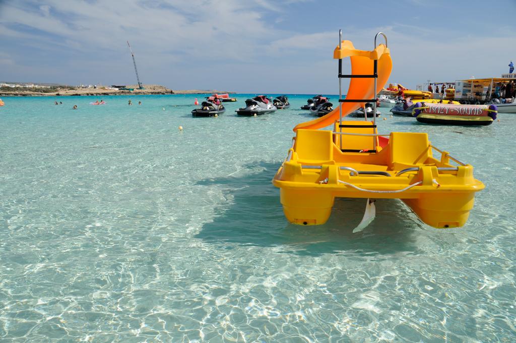 Пляж Нисси на Кипре, фото 7