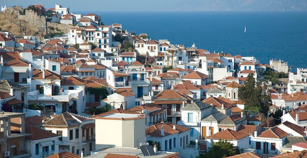 Пляж острова Скопелос в Греции, фото 3