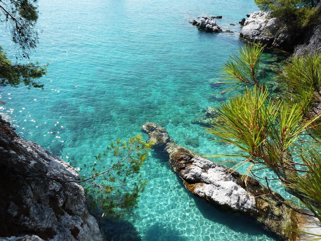 Пляж острова Скопелос в Греции, фото 4
