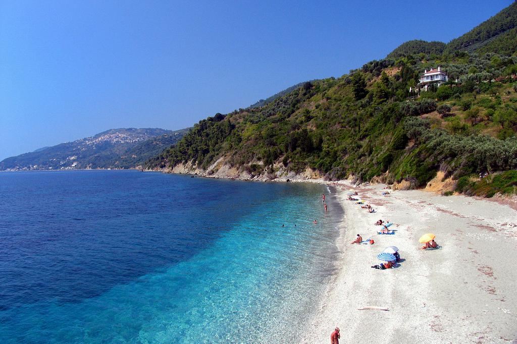 Пляж острова Скопелос в Греции, фото 6