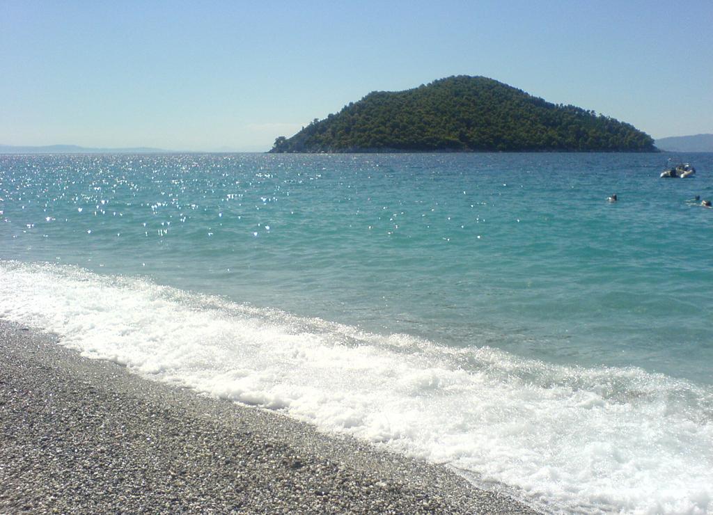 Пляж острова Скопелос в Греции, фото 9