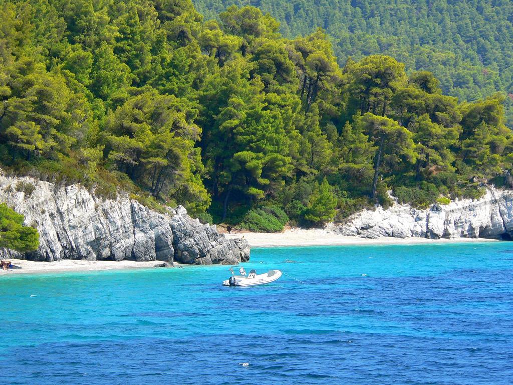 Пляж острова Скопелос в Греции, фото 11