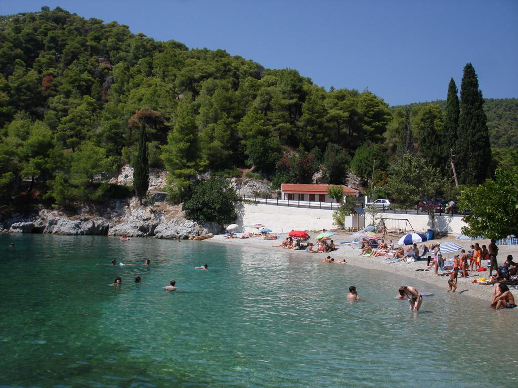 Пляж острова Скопелос в Греции, фото 12