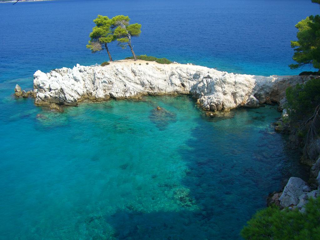 Пляж острова Скопелос в Греции, фото 16