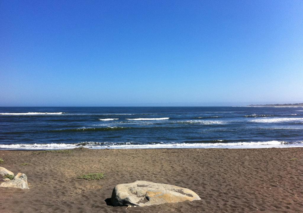 Пляж Пичилему в Чили, фото 4