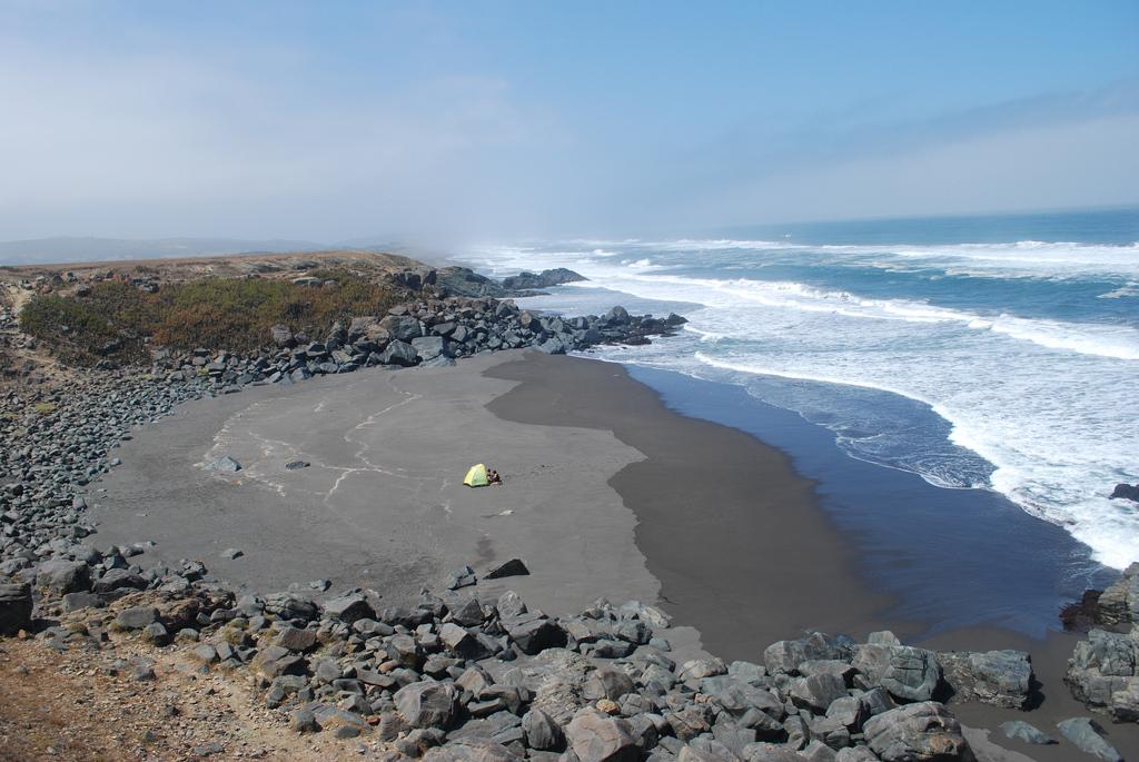 Пляж Пичилему в Чили, фото 6