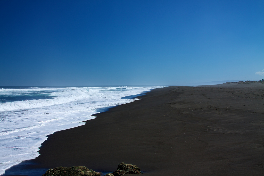 Пляж Пичилему в Чили, фото 7