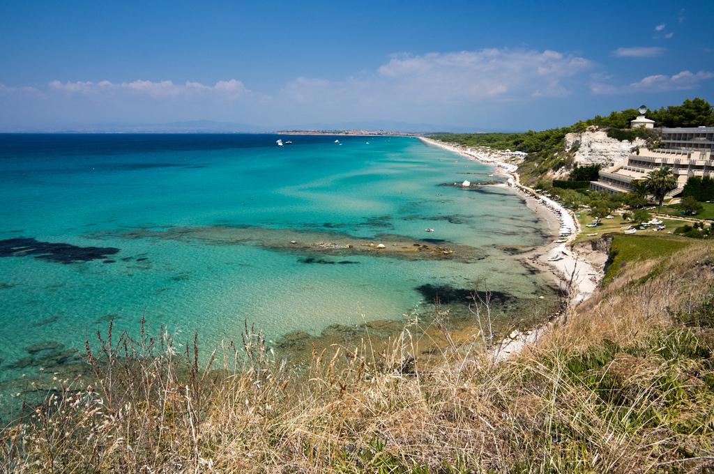 Пляж Сани в Греции, фото 2