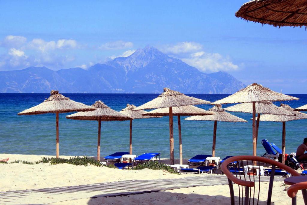 Пляж Сани в Греции, фото 7