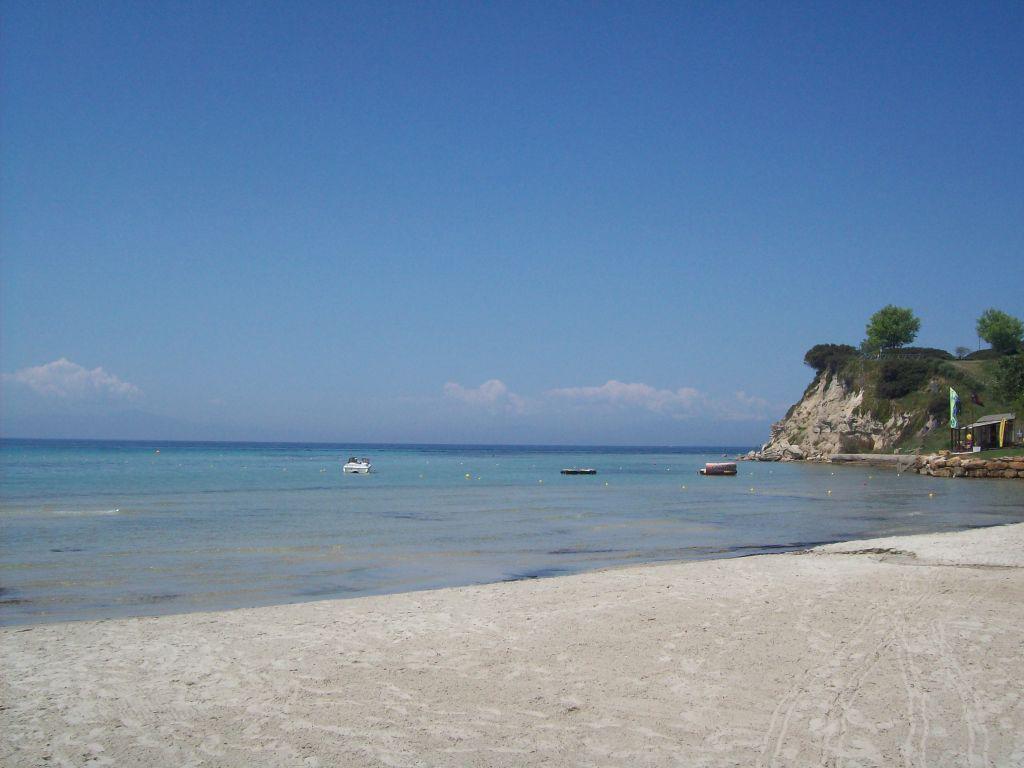 Пляж Сани в Греции, фото 9