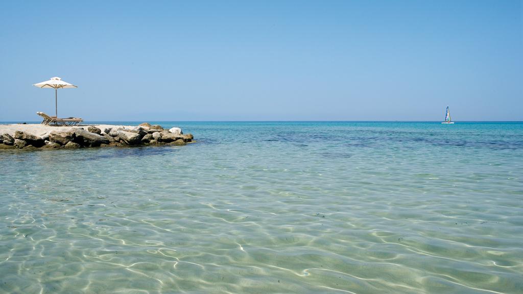 Пляж Сани в Греции, фото 11