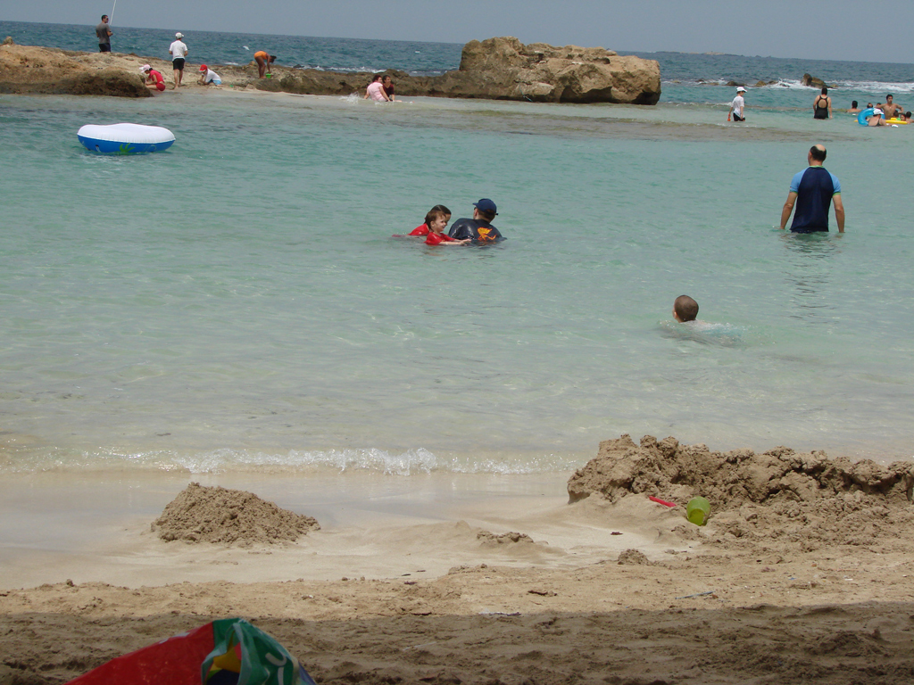 Пляж Ахзив в Израиле, фото 1
