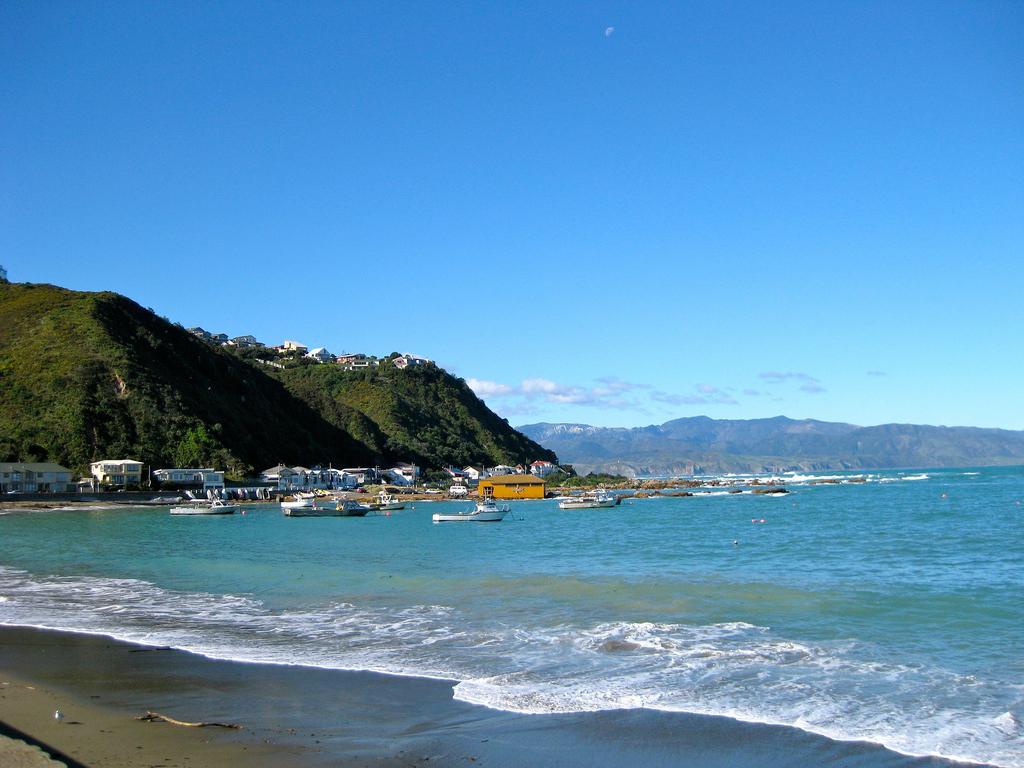Пляж Бухта Островов в Новой Зеландии, фото 1