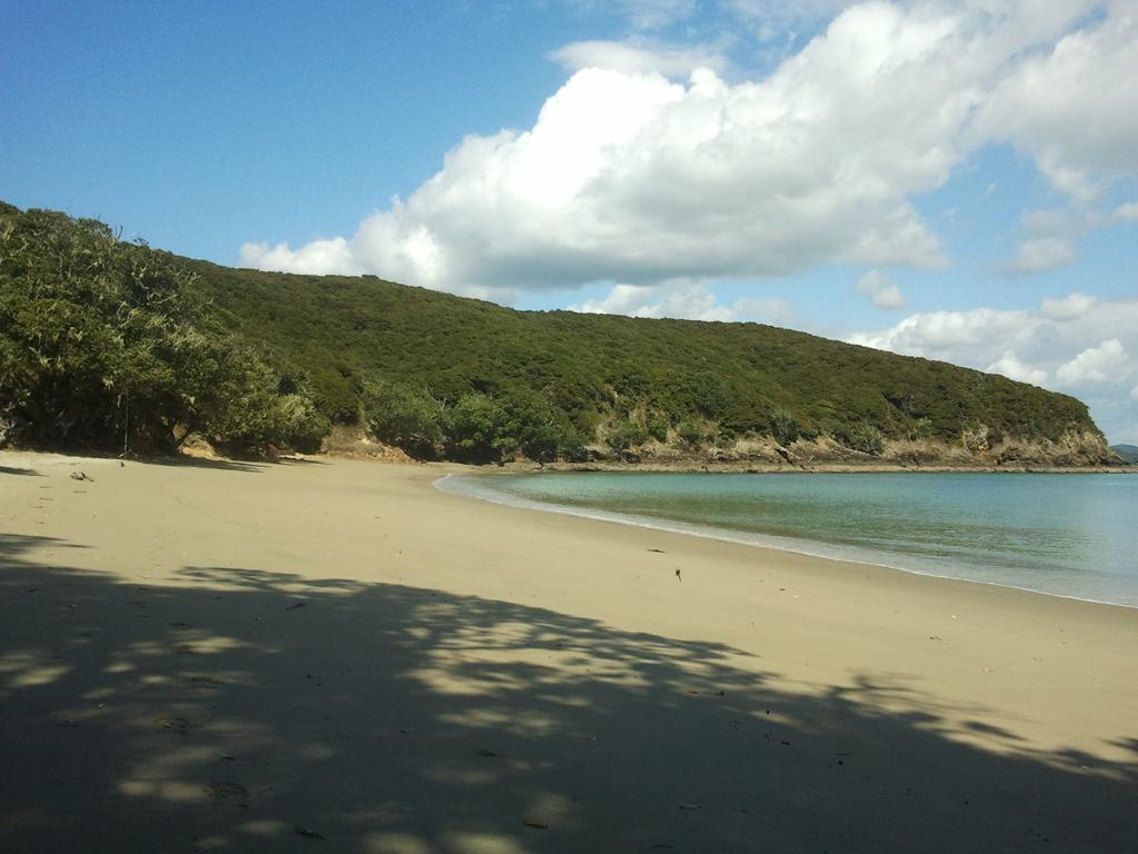Пляж Бухта Островов в Новой Зеландии, фото 3