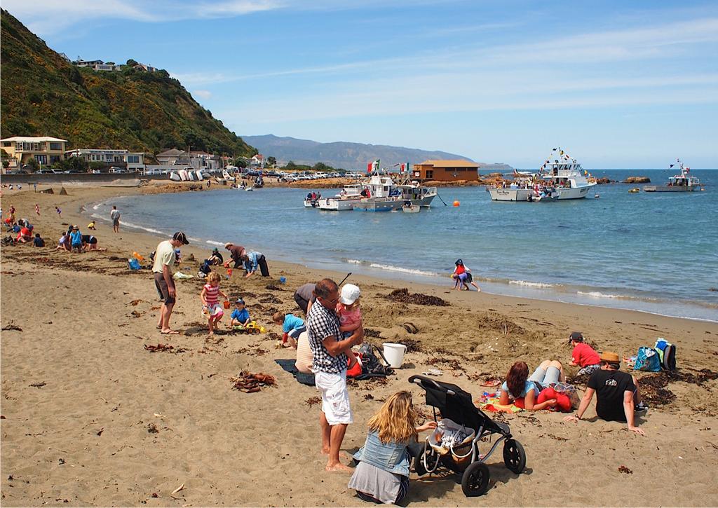 Пляж Бухта Островов в Новой Зеландии, фото 5